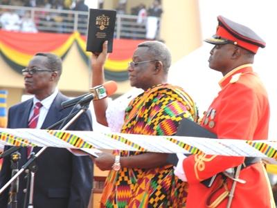 Atta Mills, president van Ghana
